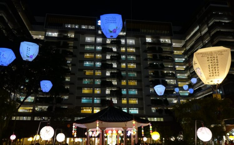 Pavilion Lantern and Lantern Wall Shine as KWSH Celebrates Mid-Autumn
