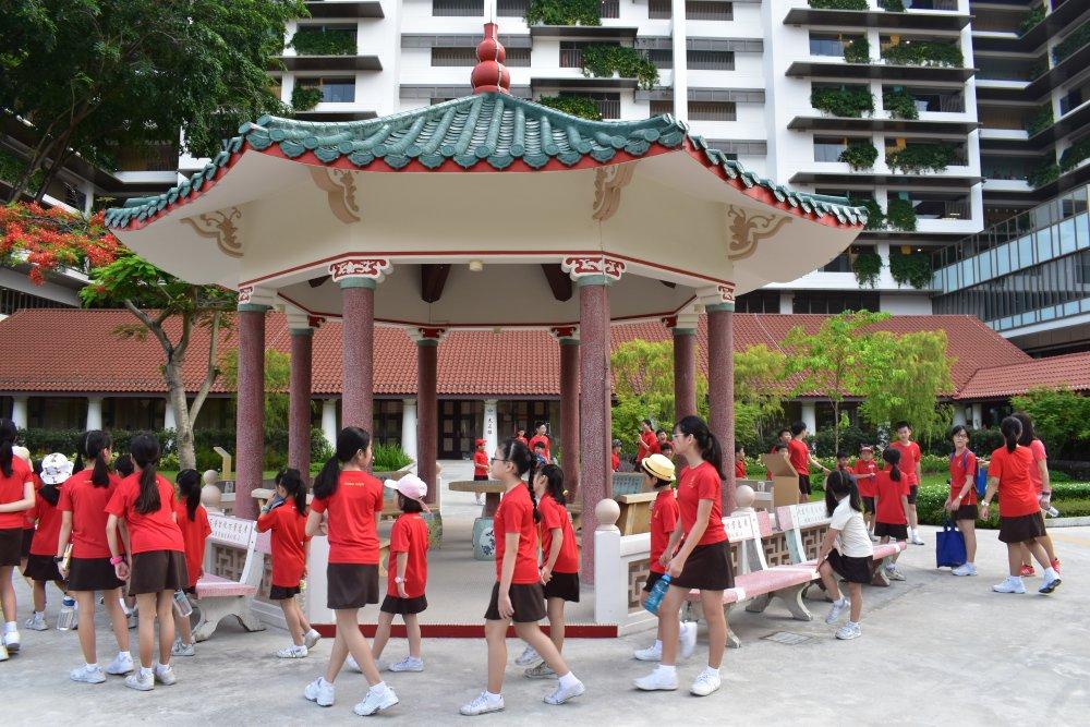 Hong Wen Students Share Children's Day Joy with KWSH Elderly