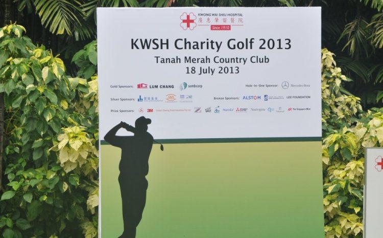 Charity Golf 2013