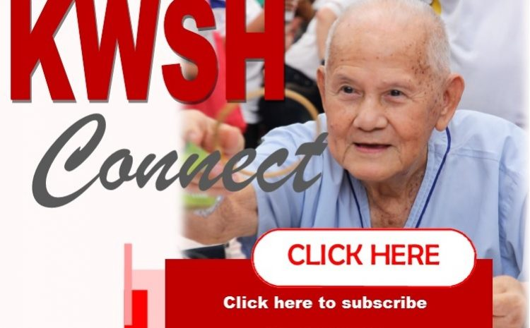 KWSH e-Newsletter: We are moving towards an online platform!