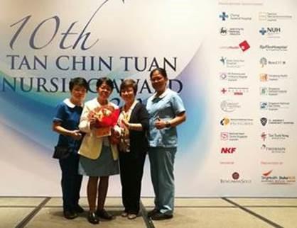 Enrolled Nurse Sylvia Jani Wins a Tan Chin Tuan Nursing Award
